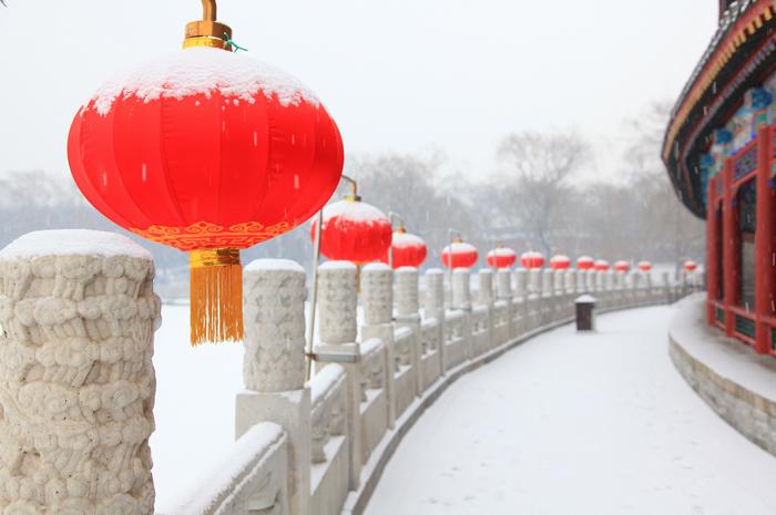 """【荷塘】如期而至的""""雪打灯""""(散文)"""